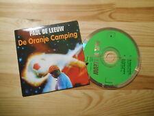 CD POP Paul de Leeuw-de Orange-Campeggio (2) canzone Sony/brommerpech