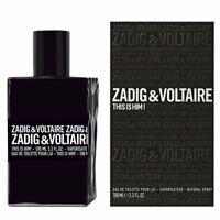 Zadig & Voltaire This is Him Edt Eau de Toilette Spray for Men 100ml NEU/OVP