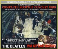 THE BEATLES Three (3) CD 'Complete Rooftop Concert 1969' Misterclaudel Set