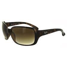 Ray-Ban Women's Rb4068 Square Sunglasses Light Havana 60 Mm