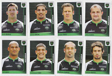 PANINI RUGBY 2010 MONTAUBAN LOT DE 8 IMAGES