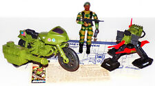 """New listing 1980's G.I.Joe """"Ram"""" and """"Pac/Rat"""" Lot with """"Stalker"""""""