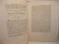 SAVI Paolo, Osservazioni sull'julus foetidissimus, aracnidi