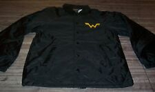 VINTAGE 1990's WEEZER Band TOUR JACKET SMALL MENS Black NEW