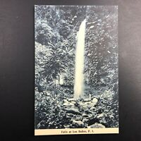 Dampalit Falls Los Baños, Philippines Postcard Vintage Antique Printed Germany