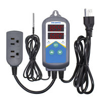 Inkbird Temp Controller Thermostat ITC-306T Dual Heater 110V 10A Sensor Probe US