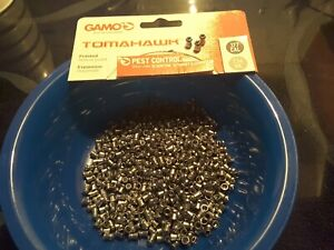 TOMAHAWK POINTED HOLLOW POINT .177 CAL. 100 PELLETS PER LOT. GAMO