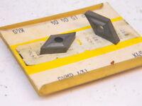 NEW 5PCS. KENNAMETAL DNMP 431  GRADE: K45 CARBIDE INSERTS