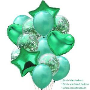 14pcs/set Wedding Birthday Balloons Latex Foil Ballon Kids Girl Baby Party Decor