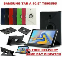 For Samsung Galaxy Tab A 10.5 T590/T595 CaseLeather Folio Stand Cover