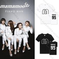 Kpop MAMAMOO T-shirt Unisex Whee In Tshirt Cotton Tee Concert New Solar