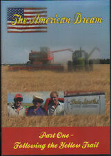 FARMING COMBINE HARVESTER DVD: THE AMERICAN DREAM - Following the Yellow Trail