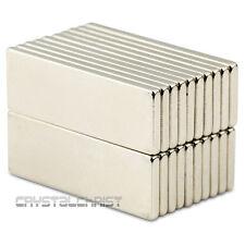 20pcs Super Strong Strip Magnet Block Cuboid 30*10*2mm Rare Earth Neodymium N50