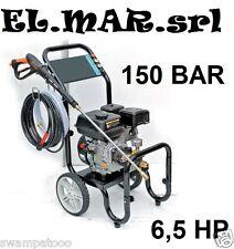 Idropulitrice 150 Bar motore a scoppio 6,5 HP 9 l/min acqua fredda professionale