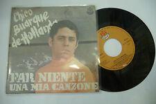 "CHICO BUARQUE DE HOLLANDA""FAR NIENTE-disco 45 giri RGE It 1967"" BEAT Brasil/It"