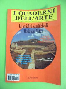 I QUADERNI DELL'ARTE N°16/1996 ANTICHITA SANNITICHE DI BOVIANUM VETUS