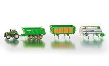 FARMER SIKU 1848 Deutz-Fahr Agrotron Tractor Joskin 3 Trailer Set 1:87 Diecast