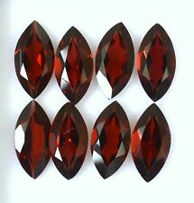 11.49 Cts Natural Garnet Marquise Cut 12x6 mm Lot 06 Pcs Red Loose Gemstones