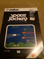 Space Jockey by VIDTEC  for Atari 2600 ▪︎ Complete in Box  ▪︎ FREE SHIPPING ▪︎