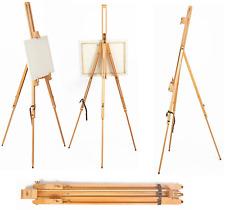 PINE WOOD Wooden STUDIO EASEL 5ft ARTIST ART CRAFT DISPLAY 1580MM HIGH