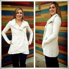 Lululemon Gratitude Wrap - Heathered White, Rare, Must See! Size 4-6, EUC