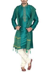 MKP9008 Men's Kurta Pyjama Churidar Salwar Kameez Indian Salwar Bollywood Outfit