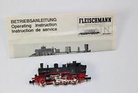 n3180, RAR Fleischmann Dampflok T 9.3 / Wannsee der K.P.E.V. Spur N mint aus SET