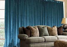 Large Thick Velvet Blockout  Curtains 550x 230cm PINCH PLEAT 2 panel +30 Hooks