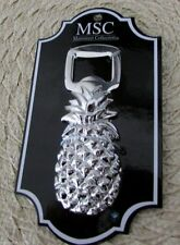 Main Street Collection Pineapple High Polish Silver Bottle Opener MSC Quality!
