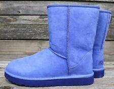 UGG Australia Womens Classic Short Skyline Blue Sheepskin Boots US 12 NEW!