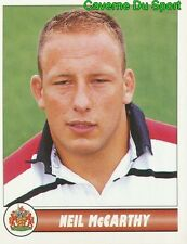 054 NEIL MCCARTHY  GLOUCESTER RFC STICKER PREMIER DIVISION RUGBY 1998 PANINI