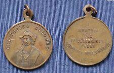MEDAGLIA REGNO UMBERTO I CRISTOFORO COLOMBO IV° CENTENARIO SCOPERTA AMERICA 1892