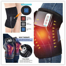 Electric Knee Joint Heat Support Arthritis Wrap Vibration Physiotherapy Massage