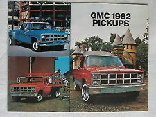 GMC Pickups brochure 1982 Canadian market