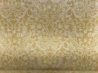 Art Nouveau  Morris Linen Ochre  Yellow Curtain/Craft /Upholstery Fabric