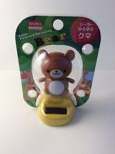 Solar Power Dancing Toy Daiso Bear