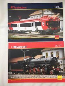 5 x Rivarossi Arnold Electrotren Jouef HO / TT / N Model Railway catalogues 2017