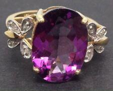 Treated Fine Diamond Rings