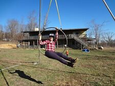 "38"" Double point aerial lyra/hoop/ring/trapeze/circeau"