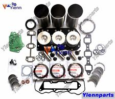 3D82AE 3TNE82A Overhaul Rebuild Kit For KOMATSU PC10 PC15 PC20 PC28 PC25 Engine