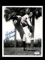 Lefty Gomez PSA DNA Coa Hand Signed 8x10 Photo Yankees Autograph