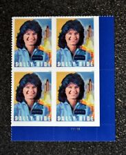 2018USA Forever United States Sally Ride - Plate Block of 4 - Mint NH