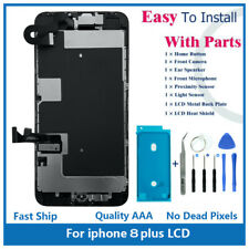 "iPhone 8 Plus 5.5"" Full Screen Replacement LCD Front Camera Speaker Home Button"