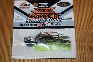 Evergreen Z-Man Stealth Blade Jack Hammer Chatterbait 1/2oz (Bhite Delight) NIP