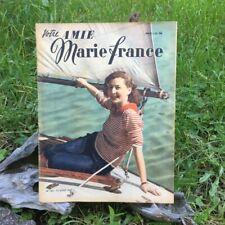 Votre Amie Marie France  N°143 _ 12 Aout 1947 - Ancien Magazine Français
