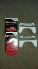 Wii Game - FERRARI CHALLENGE racing Game + 2 Steering Wheels