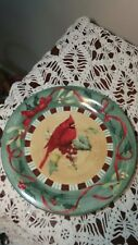 Lenox WINTER GREETINGS EVERYDAY Dinner Plate, CARDINAL 10.5""