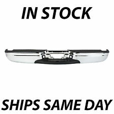 NEW Chrome - Rear Step Bumper Assembly for 1997-2004 Ford F150 w/out Park 97-04