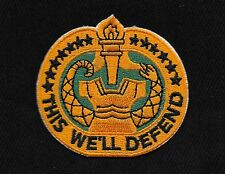 United States ARMY DRILL SERGEANT MILITARY PATCH - THIS WE'LL DEFEND