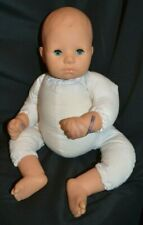 "Zapf Creation Blue Sleep Eyed 18"" Weighted Baby Doll"